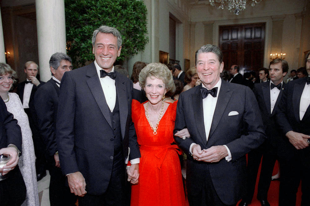 Rock Hudson, Nancy Reagan és Ronald Reagan