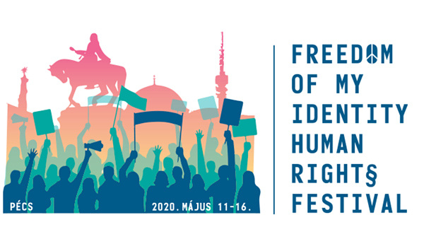 A Freedom of My Identity Human Rights Festival logója